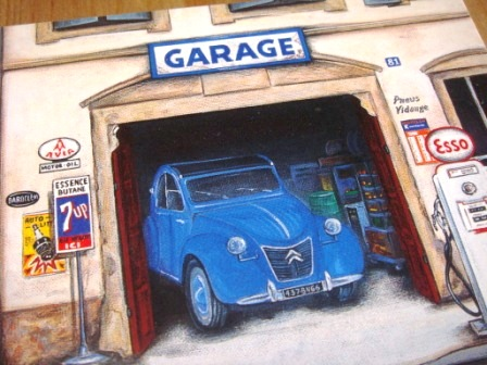 citroen 2cv garage garitto. Black Bedroom Furniture Sets. Home Design Ideas